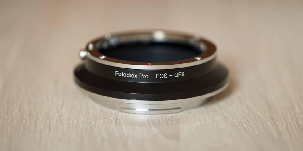 Fotodiox Pro EOS > GFX adapter