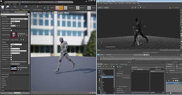 Ingyenes MotionBuilder Live Link az UE4-hez