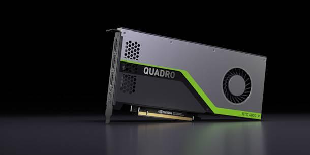 Quadro RTX 4000 GPU az NVIDIA-tól, 900 dollárért