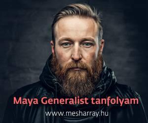 Maya Generalist tanfolyam | Mesharray.hu