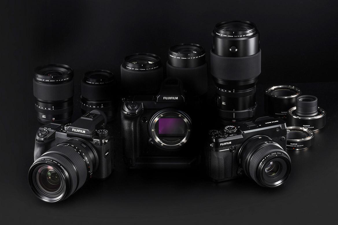 A Fujifilm GFX termékcsalád
