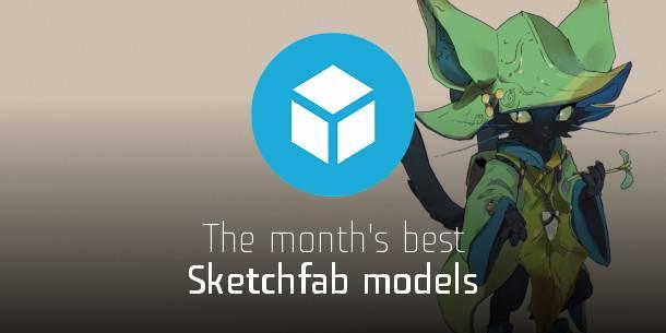 2021 május Sketchfab modelljei